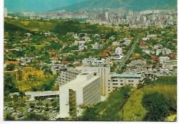 CPM - VENEZUELA  - CARACAS   - Urbanizacion  Las Mercedes - Hotel  Tamanaco - 1972 . - Venezuela