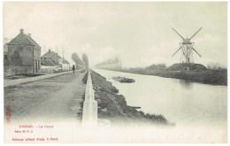 DAMME - Le Canal - Molen - Binnenschip - Péniche - Sugg Série 35 N° 4 - Damme