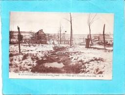 COURTEAUX Près CHATEAU THIERRY - Le Village Après Le Bombardement Allemand - ENCH - - Chateau Thierry
