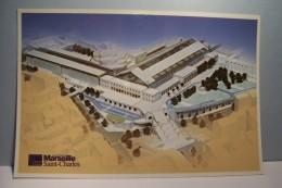 MARSEILLE    SAINT-CHARLES   ( Maquette Du Pole Transport  Marseille Saint-Charles - Stationsbuurt, Belle De Mai, Plombières