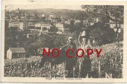 Fiuggi, Frosinone, 25.8.1942, Panorama, Costumi Ciociari. - Frosinone