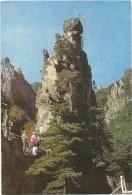 T288 North Korea - Guimyonam Rock I Mount Kumgang / Non Viaggiata - Corea Del Nord