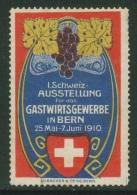 Suisse // Schweiz// Switzerland// Vignette // Schweiz-Austellung Fur Das Gastwirtsgewerbe In Bern - Abarten