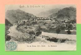 CPA  FRANCE  2B  ~  CORTÉ  ~  227  La Restonica  ( Cardinali 1905 ) - Corte
