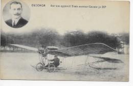 Crochon - Sur Son Appareil Train Moteur Gnome 50 HP - ....-1914: Précurseurs