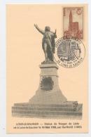 """FRANCE - CACHET DU """"10/3/1979 JOURNÉE DU TIMBRE  LONS-LE-SAUNIER"""" SUR CARTE DE LONS-L-S.  AFF. DU N° Yt 443 - Marcophilie (Lettres)"""