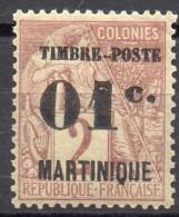 Martinique - 1891 - N° Yvert : 26 * - Martinique (1886-1947)
