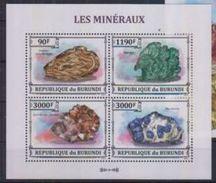 Burundi Minerals Minéraux Sheetlet - Minéraux
