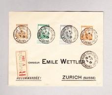 Belgien - LE HAVRE (Spécial) 9.2.1816 R-Brief Nach Zürich - Weltkrieg 1914-18