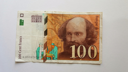 FRANCIA 100 FRANCS 1998 - 1992-2000 Laatste Reeks