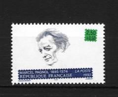 France 2802 Neuf ** (Marcel Pagnol - Cote 1,40€ - France