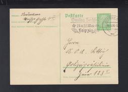 Dt. Reich GSK 1938 Stempel Gautag Sachsen - Briefe U. Dokumente