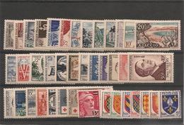 France 1954   N°Y/T:968/1007** Côte: 323,00 € - 1950-1959