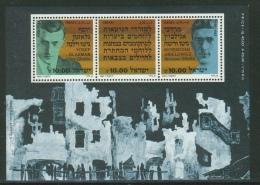 Israel // 1983 // Bloc Feullet  Neuf **  40ème Anniversaire Du Ghetto De Varsovie - Israel