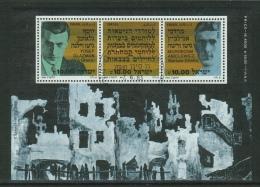 Israel // 1983 // Bloc Feuillet  Oblitéré,  40ème Anniversaire Du Ghetto De Varsovie - Israel