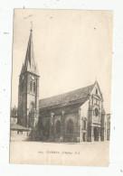 Cp , 92 , CLAMART ,l'église , Voyagée 1905 - Clamart
