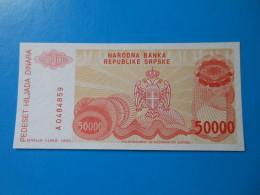 Bosnie Herzegovine Bosnia Herzegovina 50000 Dinara 1993 P150a UNC - Bosnië En Herzegovina