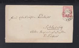 Dt. Reich Brief 1872 Kiel Nach Schleswig - Deutschland