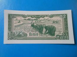 Cambodge Cambodia 0.2 Riel 2 Kak 1979 P26a UNC - Cambodia