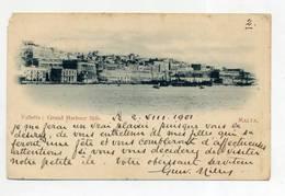 MALTA, Valetta - Grans Harbour Side  ( 2 Scans ) - Malta