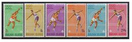 Maldives, Jeux Olympique De Mexico 1968, Série De 6 Tp Y&T N° 256/61 MNH ** - Sommer 1968: Mexico