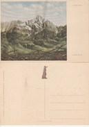 8356) IL MONTE NERO ILLUSTRATORE DANDOLO BELLINI NON VIAGGIATA SERIE VETTE EROICHE CASA REDENZIONE SOCIALE - Illustrators & Photographers