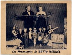SPECTACLE.   LES MARIONNETTES DE BETTY BERKEL - Circus