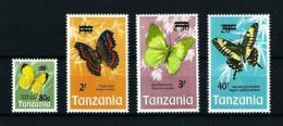 Tanzania  Nº Yvert  48/51  En Nuevo - Tanzania (1964-...)