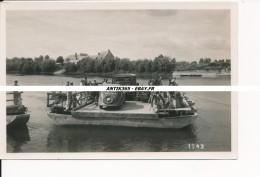 Série De 6 Photos Anciennes Pont De Chalonnes Sur Loire - Lieux