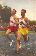Hans Harting En Wim Slijkhuis - Athlétisme
