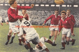 Rugbywedstrijd Engeland - Waleste Twickenham - Rugby