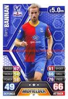 Barry Bannan - Crystal Palace - Trading Cards