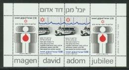 Israel // 1980 // Bloc Feullet  Neuf **  50ème Anniversaire Du Bouclier De David - Israel