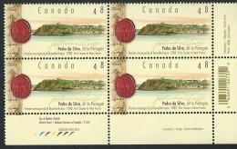 CANADA 2003 SCOTT 1988  CORNER BLOCK** VALUE US $ 4.25 - Ongebruikt