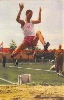 Henk Visser, Nederlands Recordhouder Verspringen 1952 - Athlétisme