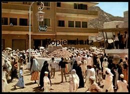 ÄLTERE POSTKARTE THE SECOND STONE MUNA Saudi Arabia Cpa Ansichtskarte Postcard AK - Saudi-Arabien