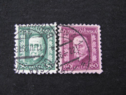 Tschechoslowakei   238 - 239  O - Gebraucht