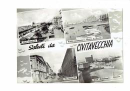 Italie - Saluti Da CIVITAVECCHIA - Multivues - N°83 - Civitavecchia