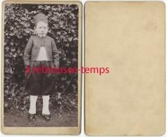 CDV Petit Garçon Habillé En Tenue De Zouave-éducation-revanche Contre Les Allemands - Photos