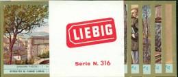 FIGURINE LIEBIG- SERIE N. 1841- GIOVANNI PASCOLI-POETI - CON FASCETTA ORIGINALE - Liebig