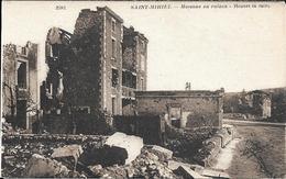 MAISONS EN RUINES - Saint Mihiel