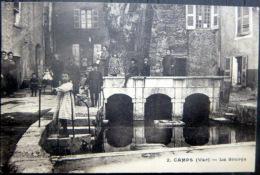 83 CAMPS LES SOURCES  ANIMATION  1931 - France