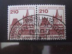 Berlin Nr. 589 PAAR Gestempelt Mit Gummierung - Berlin (West)