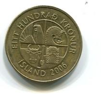 2006 Iceland 100 Kronur Coin - Islande