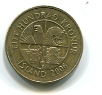 2006 Iceland 100 Kronur Coin - Iceland