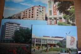 Ukraine, Melitopol - 12 Postcards LOT - OLD USSR PC  1980s  - Street Propaganda - Oekraïne