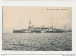 MARINE MILITAIRE FRANCAISE LE BRENHUS  CPA BON ETAT - Oorlog