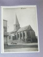 BESSE SAINT ANASTASIE /  ARDT ISSOIRE   1920    DOS CARTE PHOTO RETAILLEE  12 X 9 CM - Lieux
