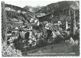 CPSM FELDKIRCH, VORARLBERG MIT GURTISSPITZE, AUTRICHE - Feldkirch
