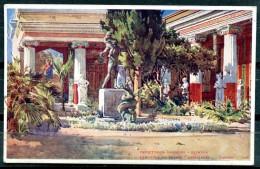 # - CORFOU - Péristyle Du Palais Achilleion - Grecia